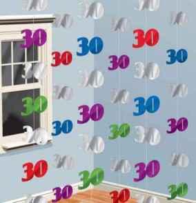 30 geburtstag deko geschenke dekoartikel und. Black Bedroom Furniture Sets. Home Design Ideas