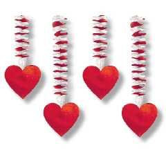 Valentinstag Geschenke und Deko mit Herz