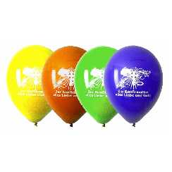 Konfirmation Latexluftballons