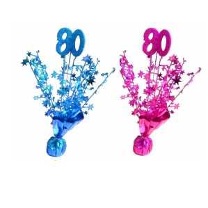 80 geburtstag deko amp geschenke dekoartikel und for Dekoration 80 geburtstag