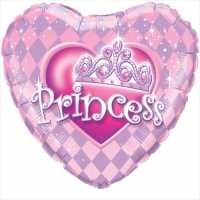 Folienballon Princess,pink