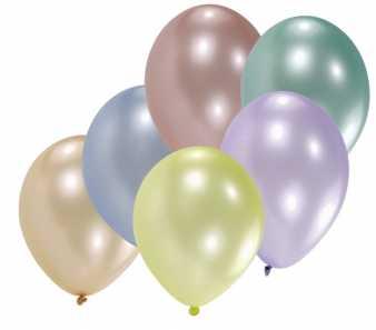 metallic luftballons 100 st ck im shop. Black Bedroom Furniture Sets. Home Design Ideas