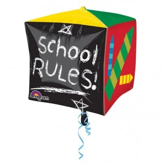 Folienballon Schule - School rules