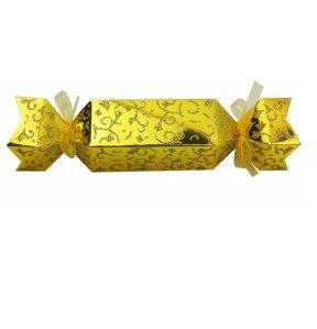 geschenk faltkarton bonbon gold im shop. Black Bedroom Furniture Sets. Home Design Ideas