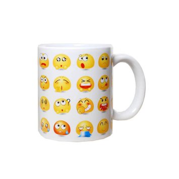 Riesen-Becher Smile-Faces, 13 cm