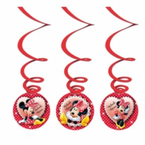 Minnie Mouse Swirl Girlande