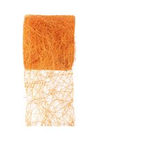 Abaca Dekoband / Bastelband - orange