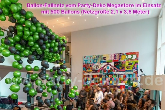 Ballon-Fallnetz: Ballonregen / Ballon Drop