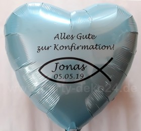 Konfirmation Luftballon: Individuelle Deko zur Konfirmation