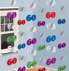 Geburtstag deko 60