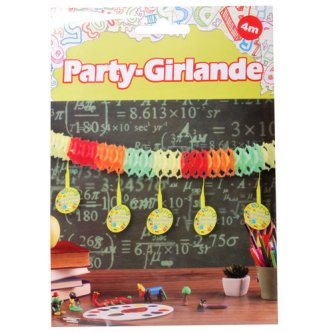 Party Girlande  Schulanfang, 4m