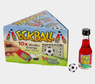 ECKBALL (c)  Fussball Set