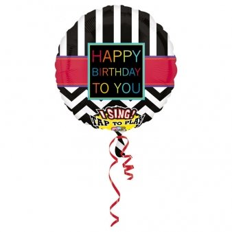 Singing Ballon - Happy Birthday