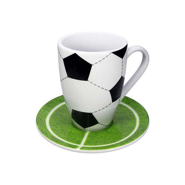 Becher Set Football