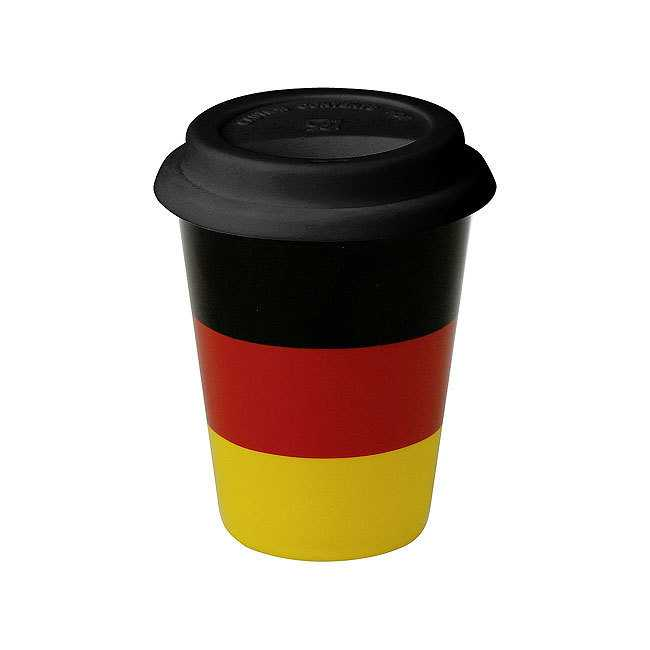 Coffee To Go Becher - Deutschland Flagge