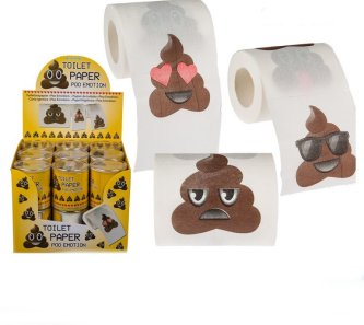 Poo Emotion als Toilettenpapier