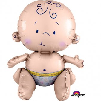 Folienballon Baby in 3 D