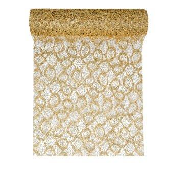 tischl ufer gold gl nzend maschen im shop. Black Bedroom Furniture Sets. Home Design Ideas