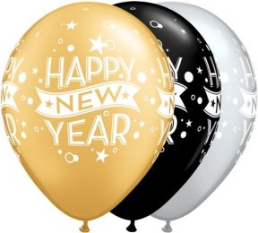 Happy New Year Luftballons