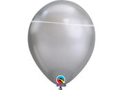 Luftballon SATIN Fashion, silber