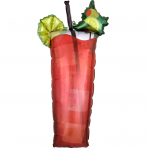 Supershape Folienballon Bloody Mary