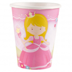 Pappbecher Prinzessin, 266ml