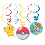 Pokemon Swirl Girlanden Set