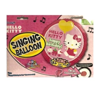 Singender Ballon Hello Kitty