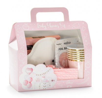 Dekoration Set - Its a Girl Babyparty