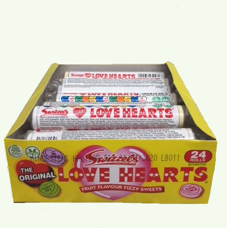 Love Hearts, Brause-Bonbon, 40g