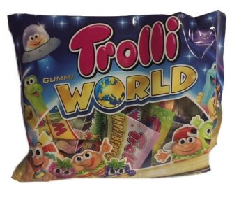 Trolli World Fruchtgummi, 230g